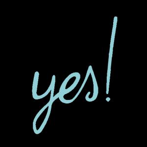 Logo | Mr & Mrs Yes | Freie Trauungen | Hochzeitsfotografie
