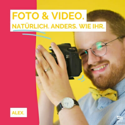 Hochzeitsfotografie & - videografie | Alex | Mr Yes