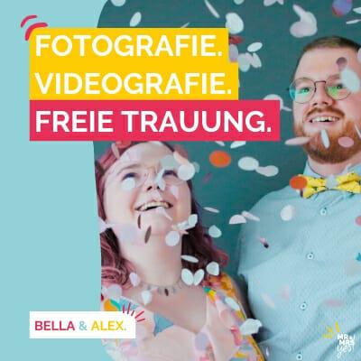 Startseite mobil | Mr & Mrs Yes | Freie Trauung | Hochzeitsfotografie & -videografie