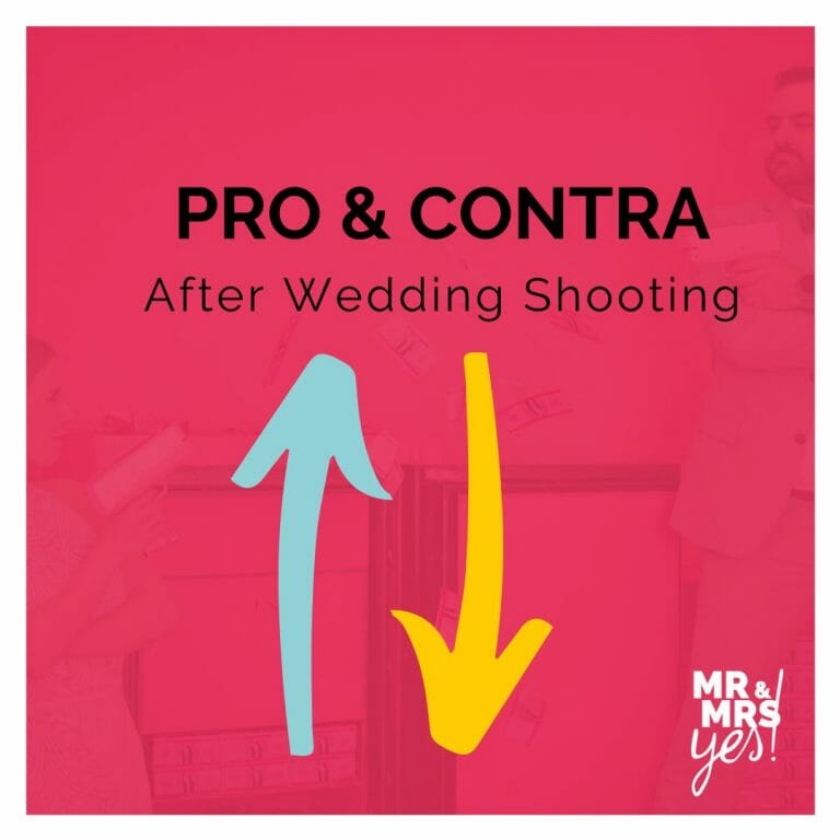 After Wedding Shooting Pro Contra | Supercandy Museum Köln | Blog | Mr & Mrs Yes